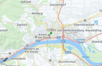 Stadtplan Krems an der Donau OT Rehberg