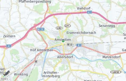 Stadtplan Amstetten