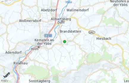 Stadtplan Allhartsberg