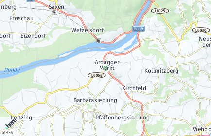 Stadtplan Ardagger