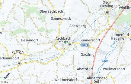 Stadtplan Aschbach-Markt