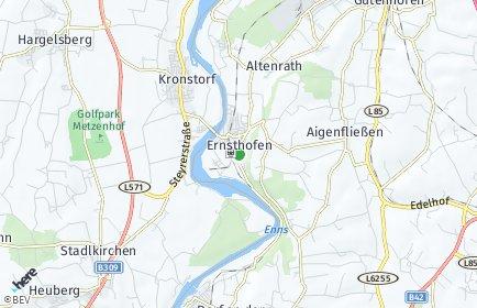 Stadtplan Ernsthofen