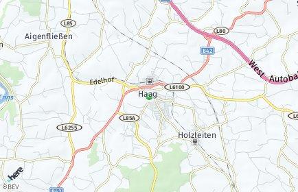 Stadtplan Haag (Niederösterreich) OT Radhof