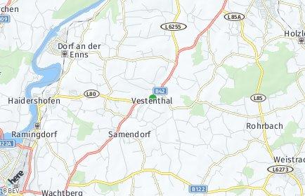 Stadtplan Haidershofen