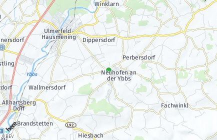 Stadtplan Neuhofen an der Ybbs