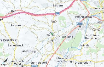 Stadtplan Oed-Öhling