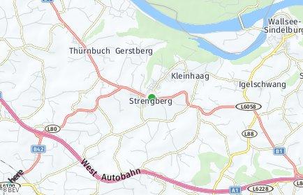 Stadtplan Strengberg
