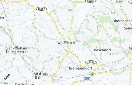 Stadtplan Wolfsbach