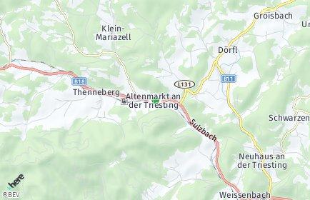Stadtplan Altenmarkt an der Triesting