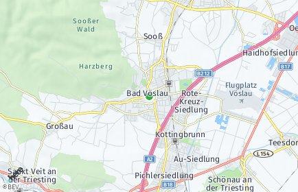 Stadtplan Bad Vöslau OT Gainfarn