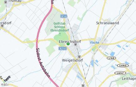 Stadtplan Ebreichsdorf OT Ebreichsdorf