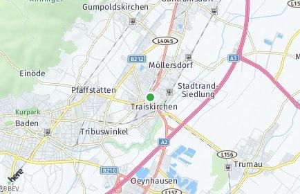 Stadtplan Traiskirchen OT Wienersdorf