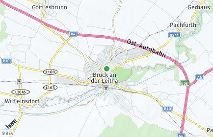 Stadtplan Bruck an der Leitha