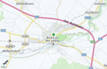 Stadtplan Bruck an der Leitha OT Wilfleinsdorf
