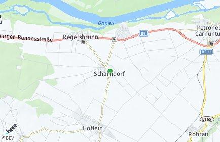 Stadtplan Scharndorf