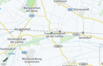 Stadtplan Trautmannsdorf an der Leitha