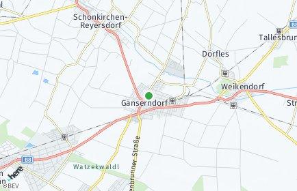 Stadtplan Gänserndorf