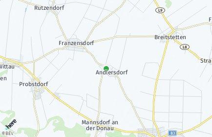 Stadtplan Andlersdorf