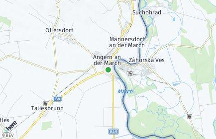 Stadtplan Angern an der March