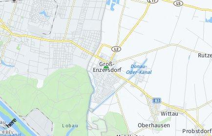Stadtplan Groß-Enzersdorf OT Oberhausen