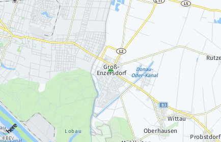 Stadtplan Groß-Enzersdorf OT Matzneusiedl