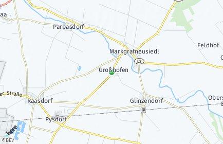 Stadtplan Großhofen