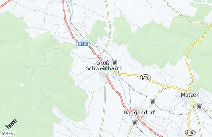 Stadtplan Groß-Schweinbarth