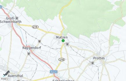 Stadtplan Matzen-Raggendorf