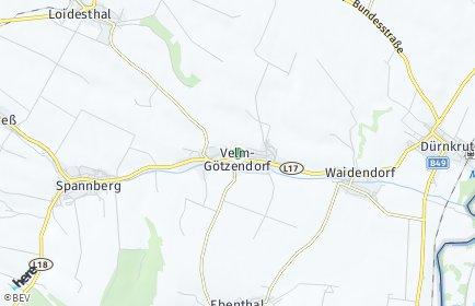 Stadtplan Velm-Götzendorf