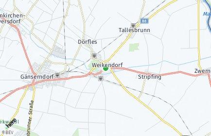Stadtplan Weikendorf