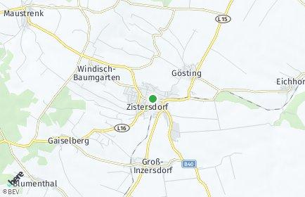 Stadtplan Zistersdorf