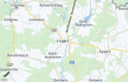 Stadtplan Eisgarn