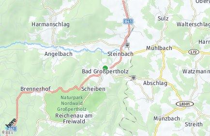 Stadtplan Bad Großpertholz OT Weikertschlag