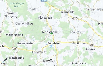 Stadtplan Großschönau