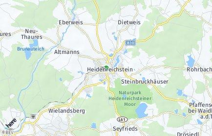 Stadtplan Heidenreichstein