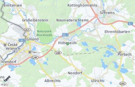 Stadtplan Hoheneich