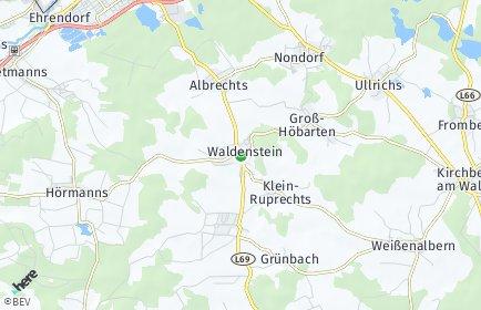 Stadtplan Waldenstein