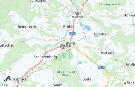 Stadtplan Weitra