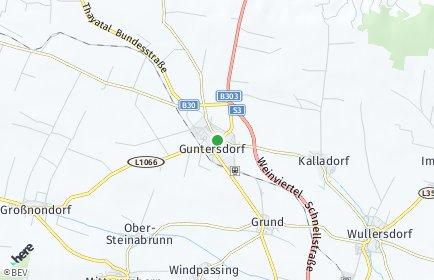Stadtplan Guntersdorf