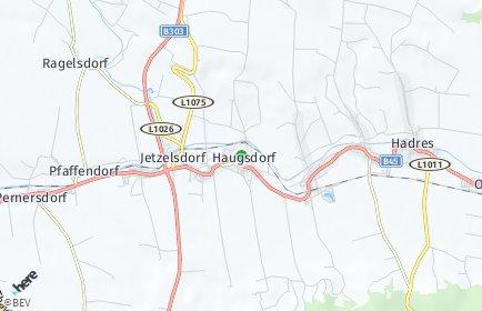Stadtplan Haugsdorf