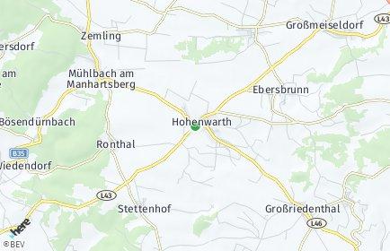 Stadtplan Hohenwarth-Mühlbach a.M.