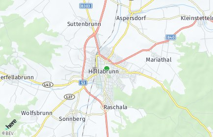 Stadtplan Hollabrunn