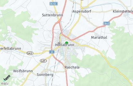 Stadtplan Hollabrunn OT Sonnberg