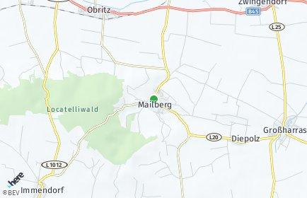 Stadtplan Mailberg