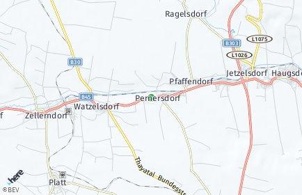 Stadtplan Pernersdorf