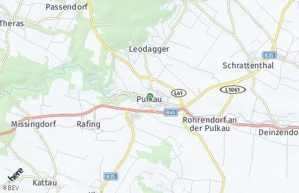 Stadtplan Pulkau