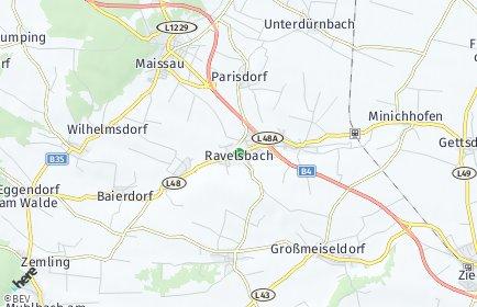 Stadtplan Ravelsbach