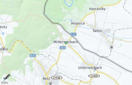 Stadtplan Retzbach