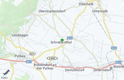 Stadtplan Schrattenthal