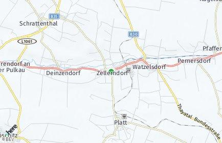 Stadtplan Zellerndorf
